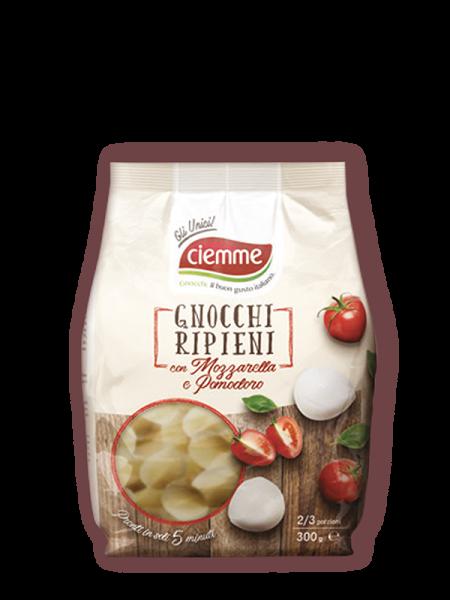 gnocchi di patate ripieni-mozzarella-pomodoro Ciemme Alimentari