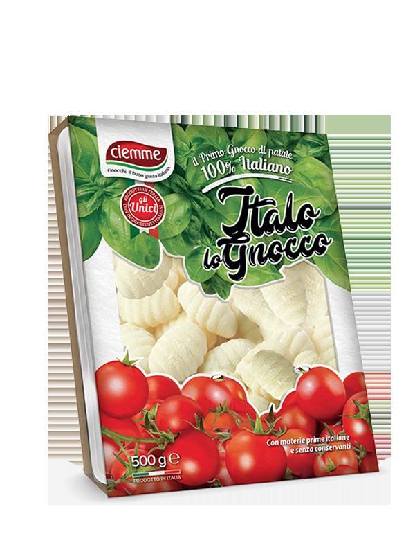 gnocchi di patate 100% italiani italo lo gnocco ciemme alimentari