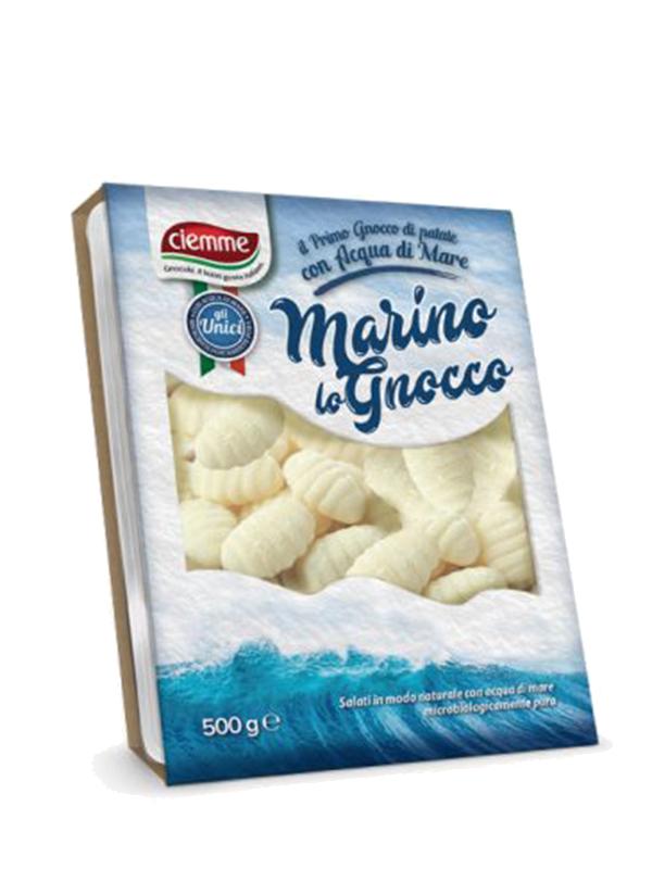 gnocchi di patate con acqua di mare marino lo gnocco ciemme alimentari