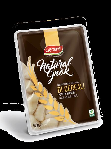 Gnocchi di patate ambient con farine di cereali ciemme alimentari