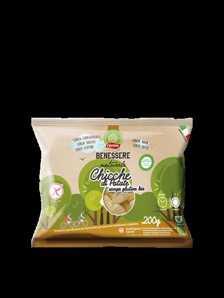 Chicche di patate senza glutine bio Benessere Naturale Ciemme Alimentari