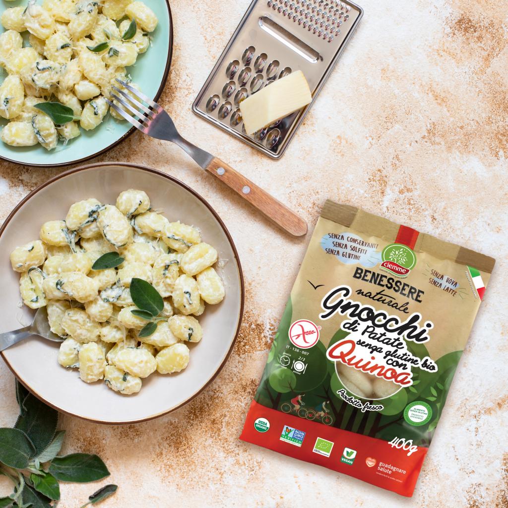 ricetta ciemme gnocchi benessere naturale quinoa