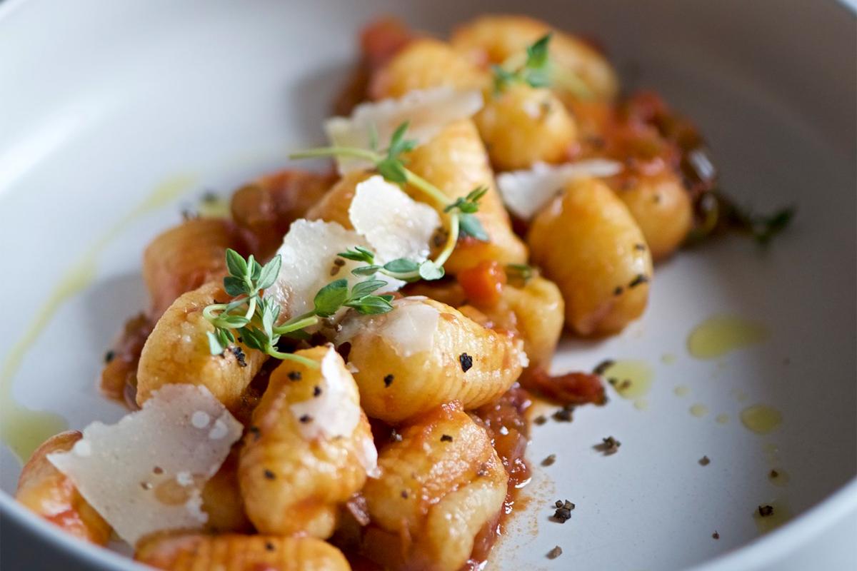Gnocchi gluten free con ragù veg - ricetta Ciemme