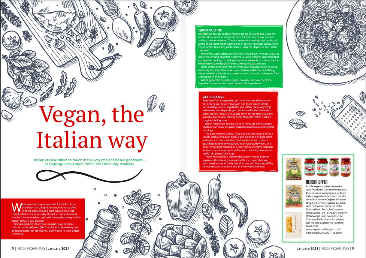 The italian way - inside veganuary