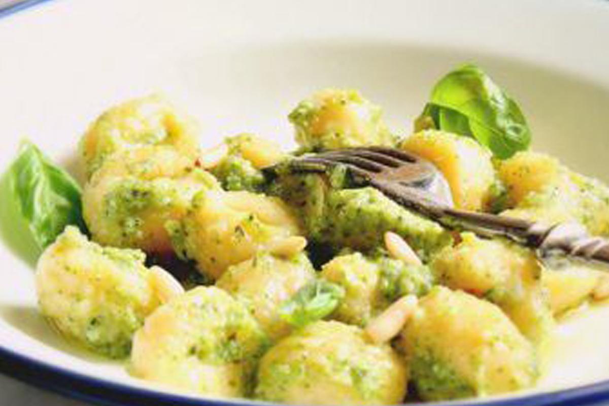 gnocchi zucchine tofu