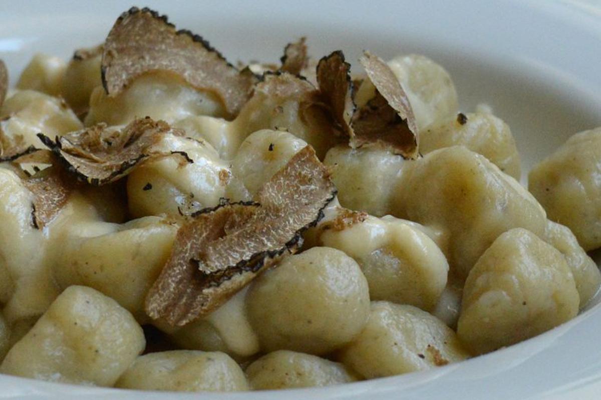 Tronchetti patate crema di parmigiano e tartufo