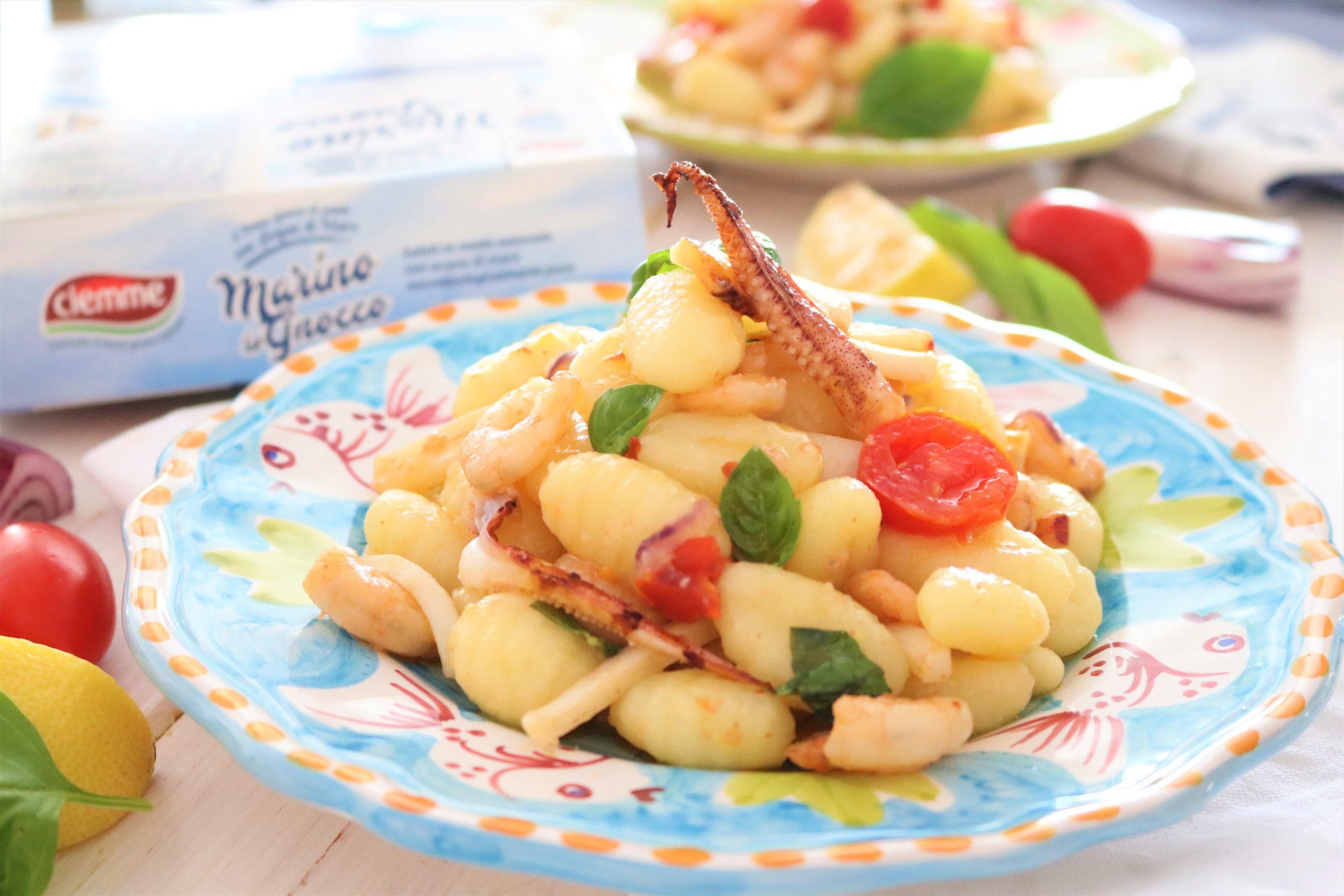insalata di mare marino lo gnocco ciemme alimentari